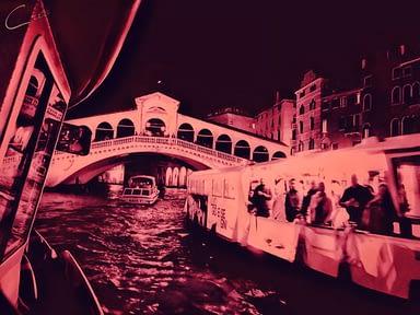 the bridge rialto venice italy
